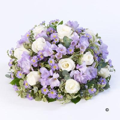 Scented Posy  Lilac and White *