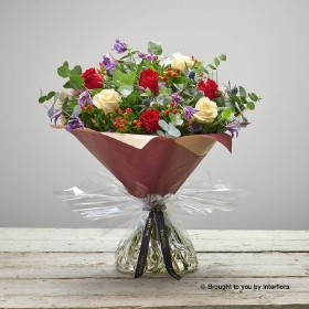 Berry rose hand tied ( jubilation)