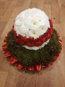 red and white ball tribute