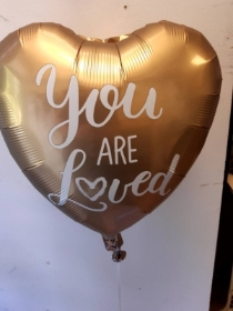 You are loved balloon